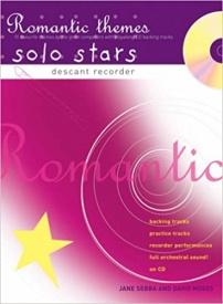 Solo Stars - Romantic Themes for Descant Recorder Book & CD published by A and C Black