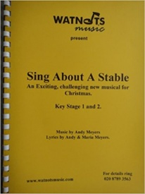 Sing About A Stable Book & CD published by Watnots