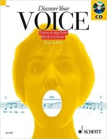Discover Your Voice Book & CD published by Schott