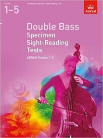ABRSM Specimen Sight-Reading Tests Grades 1 - 5 for Double Bass