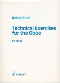 East: Technical Exercises for Oboe published by Schott
