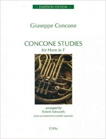 Concone: Studies for Horn in F published by Emerson