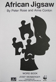 African Jigsaw - Word Book published by Weinberger