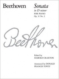 Beethoven: Sonata in D minor Opus 31 No 2 for Piano published by ABRSM