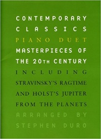 Contemporary Classics: Piano Duet published by Chester