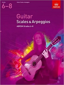 ABRSM Scales and Arpeggios Grades 6-8 for Guitar