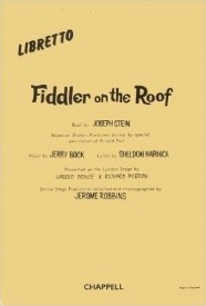 Fiddler On The Roof - Libretto published by IMP