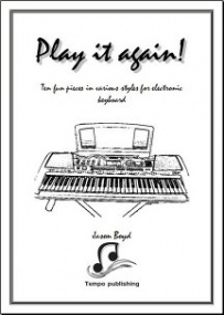 Boyd: Play it again! for Keyboard published by Tempo