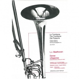 Danse Villageoise for Bass Trombone by Beethoven published by Billauot