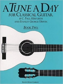 A Tune a Day Book 2 for Classical Guitar published by Boston
