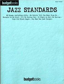 Budgetbooks: Jazz Standards for Easy Piano published by Hal Leonard