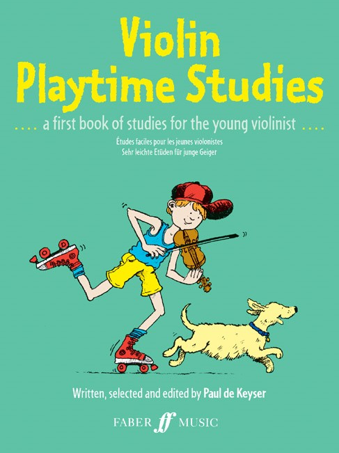 De Keyser: Violin Playtime Studies published by Faber