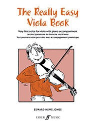 Really Easy Viola Book by Huws Jones published by Faber