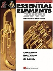 Essential Elements 2000: Baritone Treble Clef Book 2 (CD Edition) published by Hal Leonard