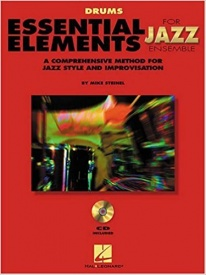 Essential Elements Jazz Ensemble Book & CD for Drums published by Hal Leonard