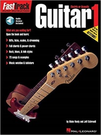 Fast Track Guitar: 1 published by Hal Leonard (Book/Online Audio)