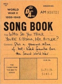 Dads Army songbook published by Wise