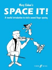Cohen: Space It! Introduction To 2nd Finger Spacing for Violin published by Faber