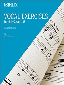 Trinity College London Vocal Exercises from 2018 (Initial to Grade 8)