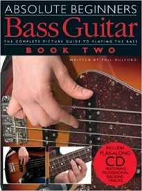 Absolute Beginners: Bass Guitar 2 Book & CD published by Wise