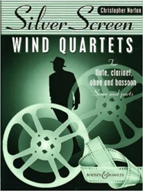 Silver Screen Quartets for Wind by Norton published by Boosey & Hawkes