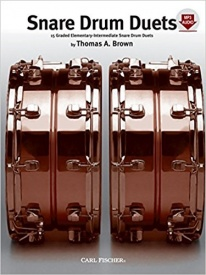 Brown: Snare Drum Duets published by Fischer
