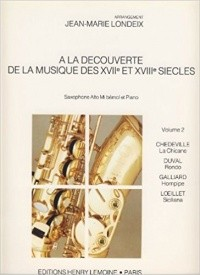 A La Decouverte De La Musique Volume 2 for Alto Saxophone published by Lemoine
