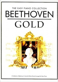 The Easy Piano Collection : Beethoven Gold published by Chester
