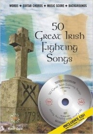 50 Great Irish Fighting Songs Book & CD