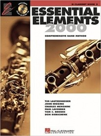 Essential Elements 2000 Book 2 with CD for Clarinet published by Hal Leonard
