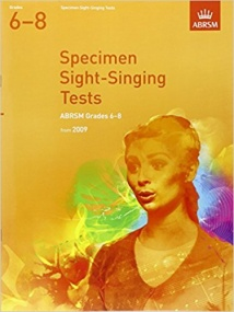 Sight Singing Tests Grade 6 - 8 published by ABRSM