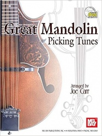 Great Mandolin Picking Tunes Book & CD published by Mel Bay