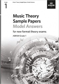 Music Theory Sample Papers Model Answers - Grade 1 published by ABRSM
