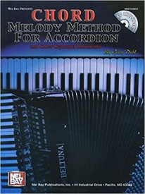 Chord Melody Method for Accordion Book & CD published by Mel Bay