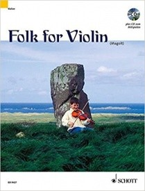 Folk for Violin Book & CD published by Schott