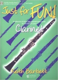 Bartlett: Just for Fun for Clarinet Book & CD published by UMP