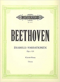 Beethoven: Diabelli Variations Opus 120 for Piano published by Peters Edition