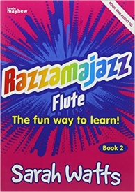 Razzamajazz 2 Book & CD for Flute published by Mayhew