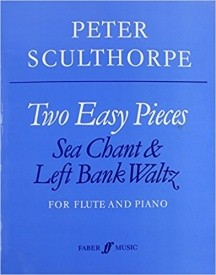 Sculthorpe: Two Easy Pieces for Flute published by Faber