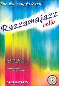 Razzamajazz Book & CD for Cello published by Kevin Mayhew