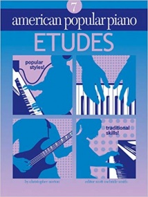American Popular Piano Etudes Level 7 by Norton published by Novus