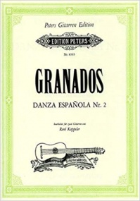 Granados: Spanish Dance No 2 for Two Guitars published by Peters
