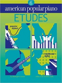 American Popular Piano Etudes Level 6 by Norton published by Novus