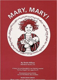 Mary, Mary! by Wilson (Music Book) published by Redhead