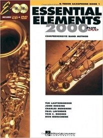 Essential Elements 2000 Book 1 CD/DVD for Alto Saxophone published by Hal Leonard