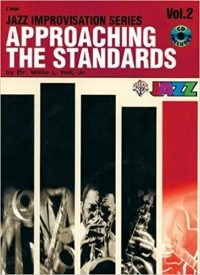 Approaching the Standards Volume 2 in C Book & CD published by Warner