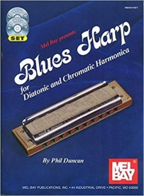 Blues Harp - Diatonic & Chromatic Harmonica Book & CD published by Mel Bay