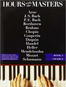 Hours with the Masters Book 5 (Grade 6) for Piano published by Bosworth
