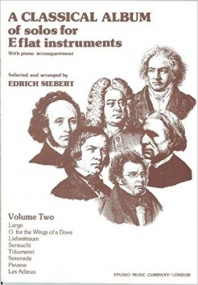 A Classical Album Volume 2 for Eb Instruments published by Studio Music