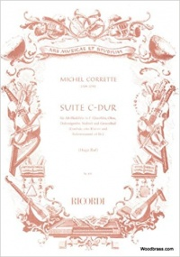 Corrette: Suite in C major for Recorder published by Ricordi